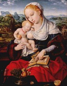 Virgin and Child - 1525 - Joovs van Cleve