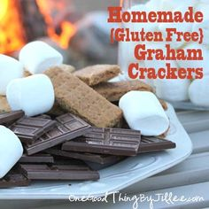 Homemade (Gluten Free) Graham Crackers!