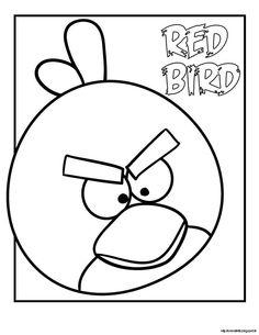 Angry Birds disegno colorare