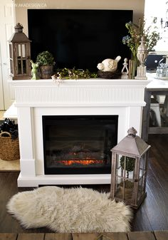 How To Decorate A Mantle 13 coastal summer mantels: http://wwwpletely-coastal/2011