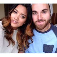 Cutest couple. Carissa Rae and Michael Alvarado