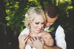 A Shabby Chic Portland Farm Wedding by Jeff Marsh Studios. Love this bride and groom pic!