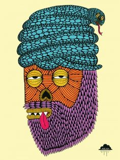 copy2-1345855338-mulga-the-artist-snake-turban-zombie-with-beard-tongue-poking-out-reptile-indian-man-illustration-joel-moore-art-posca-painting-indie-street-contemporary.jpg 375×500 pixels