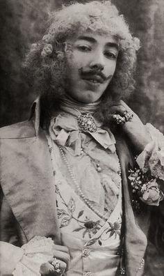 Baron Adolph de Meyer, self portrait 1890s