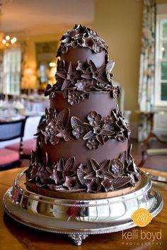 Chocolate Lovers Wedding Cake...