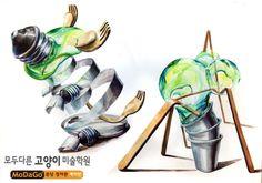 -모두다른고양이미술학원<정자동 본원직영관> 예비입시반 디자인 : 네이버 블로그