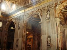 The light inside Vaticano...