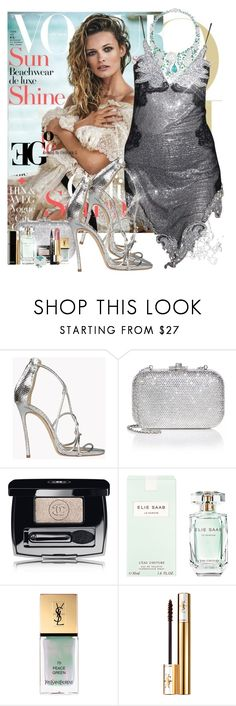 """""""The Wave of sexappeal"""" by eleonoragocevska ❤ liked on Polyvore featuring Dsquared2, Judith Leiber, Chanel, Elie Saab and Yves Saint Laurent"""