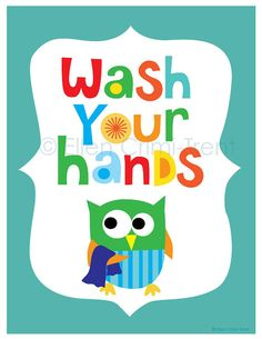 Stupell Industries The Kids Room Blue Wash Your Hands Owl Wall Plaque Educational Games For Toddlers, Learning Games, Mobile Learning, Windows Phone, Wall Plaques, Wall Signs, Owl Classroom, Classroom Organization, Classroom Bathroom