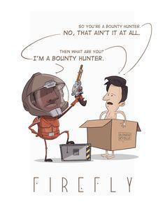 """Ilustracja nawiązuje do kultowego serialu """"Firefly"""", który namiętnie oglądam."""
