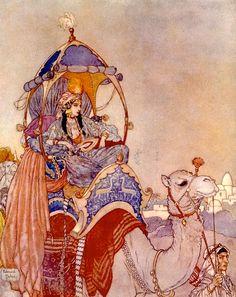 Arabian Knights by Edmund Dulac