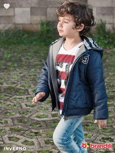 Diversão, amor de irmão e muito conforto! Moda Infantil Brandili - Inverno 2016