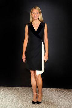 Gwyneth Paltrow en Christian Dior http://www.vogue.fr/mode/look-du-jour/articles/gwyneth-paltrow-en-christian-dior/18570