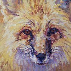Foxes Artist | griffin afc painter plein air painter wildlife artist landscape artist