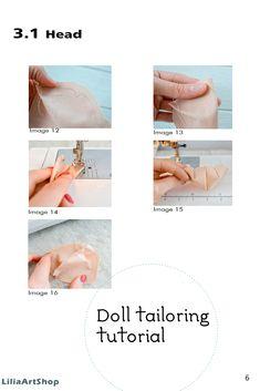 Rag doll pdf pattern by LiliaArtShop. Doll making tutorial for Rag doll sewing doll pattern Doll body Rag doll tutorial Soft doll pattern Blank doll body Doll Making Tutorials, Making Ideas, Rag Doll Tutorial, Doll Painting, Rag Dolls, Room Decorations, Handmade Dolls, Soft Dolls, Soft Sculpture