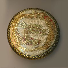 ButtonVery Finest 19th C. Japanese Satsuma Golden by rclarner
