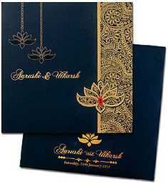 Regal Cards offers innovative and trendy designs of traditional Hindu wedding invitation cards. Our range of exclusive Hindu wedding cards is specifically designed keeping your vivid imagination in mind. Marriage Invitation Card, Indian Wedding Invitation Cards, Marriage Cards, Wedding Invitation Card Design, Simple Wedding Invitations, Wedding Stationery, Muslim Wedding Cards, Simple Wedding Cards, Wedding Cards Handmade