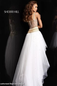 strapless mermaid white prom dress with jewels corset bodice and ...