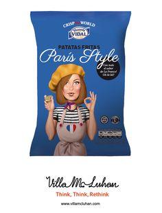'Crisp the World' de Vicente Vidal, mejor packaging en 'El Chupete'