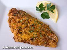 Pan Fried Catfish Recipe - Visual Recipes
