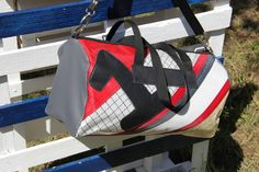 Sail holdall with number #one -   #sail #vela #madeinitaly #recycled #creative