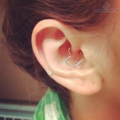 Thinking that I might get my daith pierced after I get the rest of my triple forward helix done.