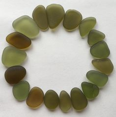 A personal favorite from my Etsy shop https://www.etsy.com/listing/271299746/olive-sea-glass-suppliesjewelry-quality