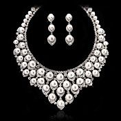 Graceful Alloy With Imitation Pearl&Rhineston... – USD $ 89.99