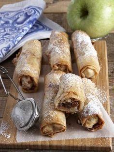 Greek Sweets, Greek Desserts, Greek Recipes, Tzatziki, Greek Dishes, Chocolate Sweets, Sweets Cake, My Best Recipe, Mini Foods