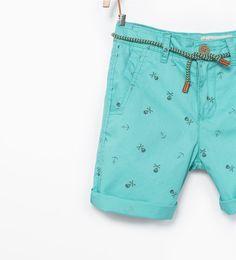 ZARA - KIDS - Colored bermuda shorts