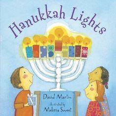 Book, Hanukkah Lights by David Martin
