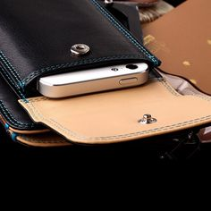 Leather Mobile phone case & Wallet combo travel companion - Compatible with the Samsung Galaxy S7 & S7 Edge, Note 5, LG G5 & Iphone 6s plus many more!