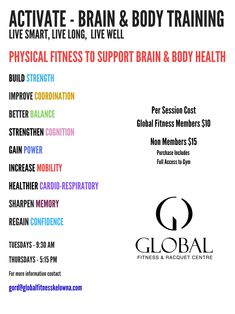 Keep Your Body and Brain Healthy and Strong Benefits Of Exercise, Brain Training, Health Center, Regular Exercise, Brain Health, Your Brain, Live Long, Health Coach, Stress Management