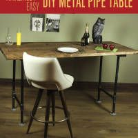 Want to build a beautiful table but don't know where to start? Do you love rustic and/or industrial design and want an inexpensive and easy way to make your own DIY furniture?  Today, we are going go over how simple it is to make a metal pipe table, which can be a