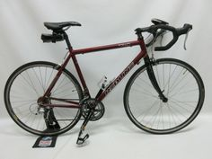 This Redline R740 is a great road bike. It is 56 cm in size.This bike is in good condition. It is used. It has a few scuffs and minor scratches on the top of the bike. There is also some light wear on the chain and gears from normal use. It is a 24 speed, […]