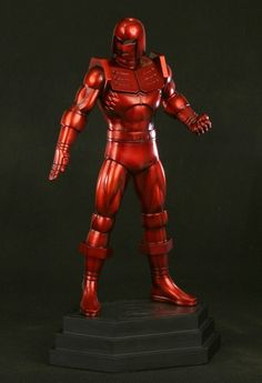 Crimson Dynamo statue WEBSITE EXCLUSIVE Sculpted by: Helder Moreira  Release Date: Late Spring 2013  13.5 tall overall