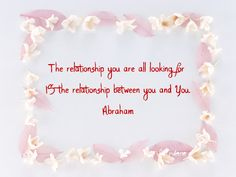 ABRAHAM-HICKS http://www.lawofatractions.com/positive-energy/
