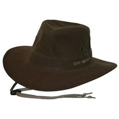 de401be79d58b Outback Trading Oilskin River Guide Hat