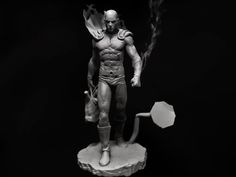 ArtStation - Caped Baldy wip, Duy Do Quoc