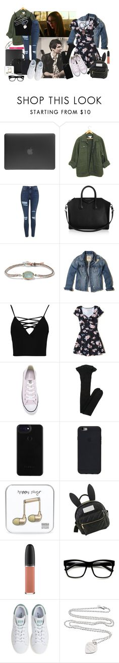 """""""×Cry Baby - Alice Parker×"""" by angel-with-tattered-wings ❤ liked on Polyvore featuring Incase, Topshop, Givenchy, BROOKE GREGSON, Hollister Co., Boohoo, Converse, Yves Saint Laurent, TONYMOLY and cutekawaii"""