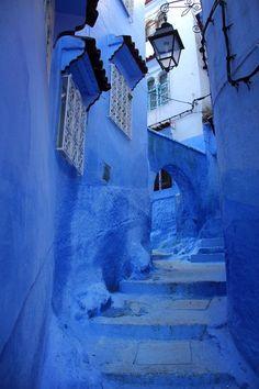 Chefchaouen, Marrocos.