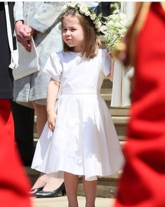 #NEW princess Charlotte today!!! She looks so grown up