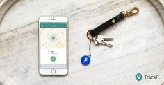 Find lost items fast. When something goes missing, just tap the TrackR app to make your TrackR pixel ring loudly.