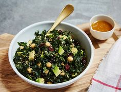 Crunchy, green, and kale! What isn't there to love about this salad?