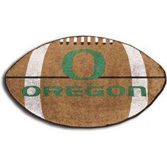 NCAA - Oregon Ducks Small Football Rug