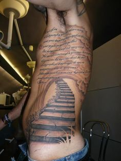staircase stair tattoo pictures to pin on pinterest