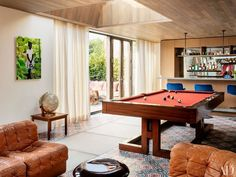 Billiards Room designed by Laura Santos.