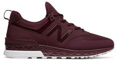Get These Burgundy New Balance 574