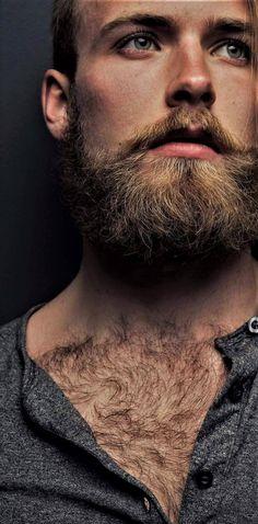 Beautiful Men Faces, Gorgeous Men, Hairy Men, Bearded Men, Hairy Hunks, Great Beards, Hommes Sexy, Beard Tattoo, Raining Men