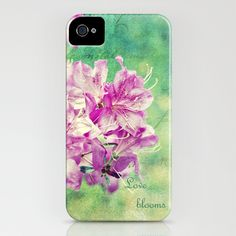 Love Blooms iPhone Case by Laura George - $35.00